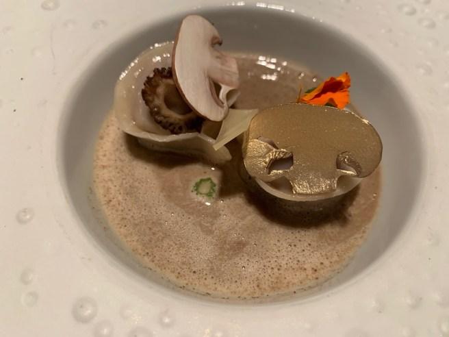 gilded mushroom
