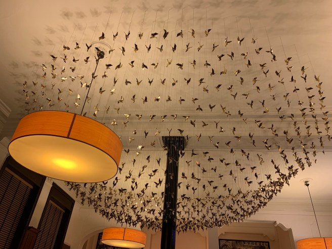 ceiling sculpture