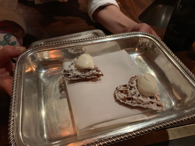 presentation of buckwheat waffles