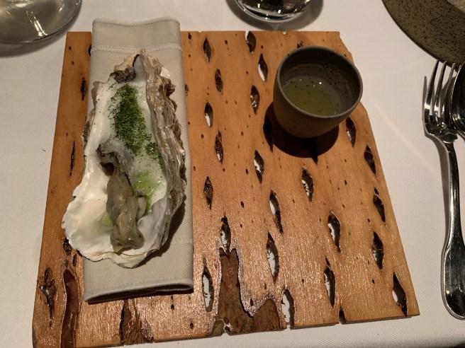 oyster, kiwi