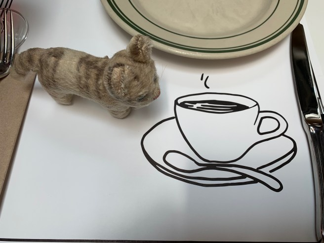 frankiie studied the placemat