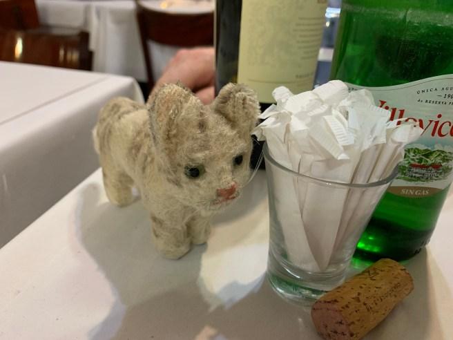 Frankie liked having toothpicks on the table