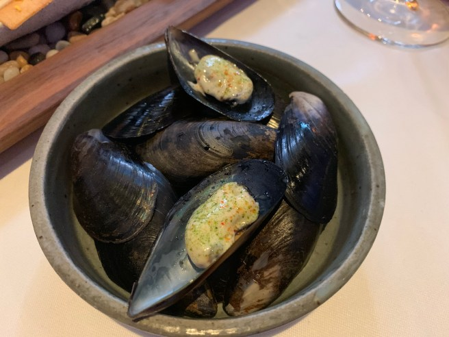 spring mussel with mayo