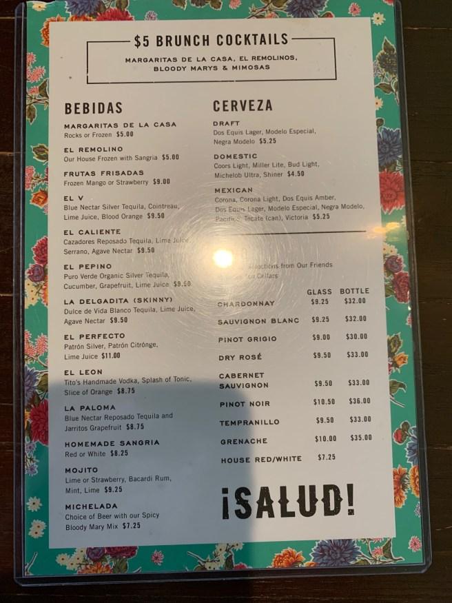 brunch menu 2