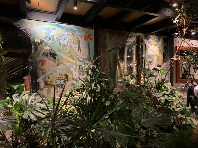 plants and paintings