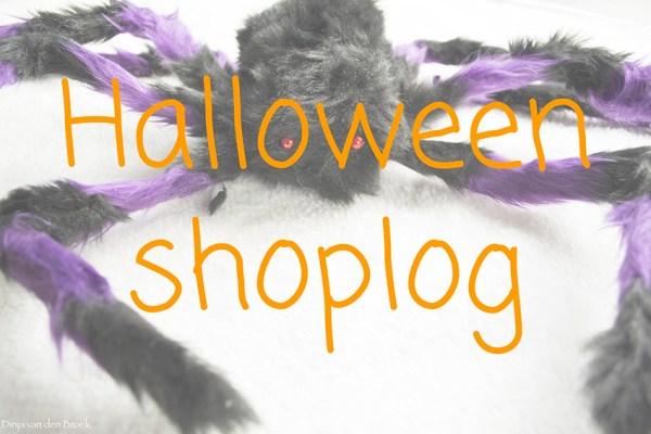 Halloween shoplog