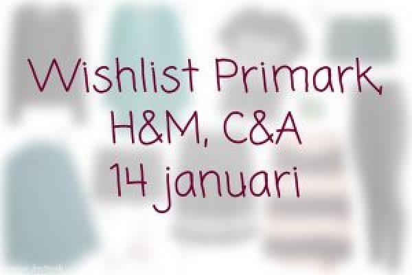 Wishlist 14 januari