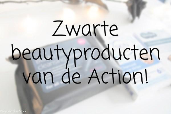 Zwarte beautyproducten