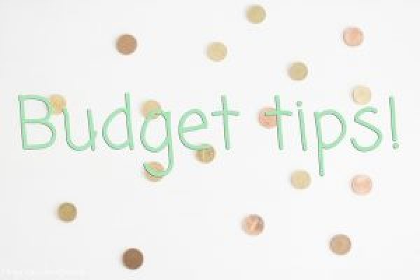 Budget tips!