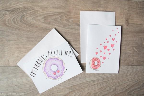 Valentijnsdag kaarten