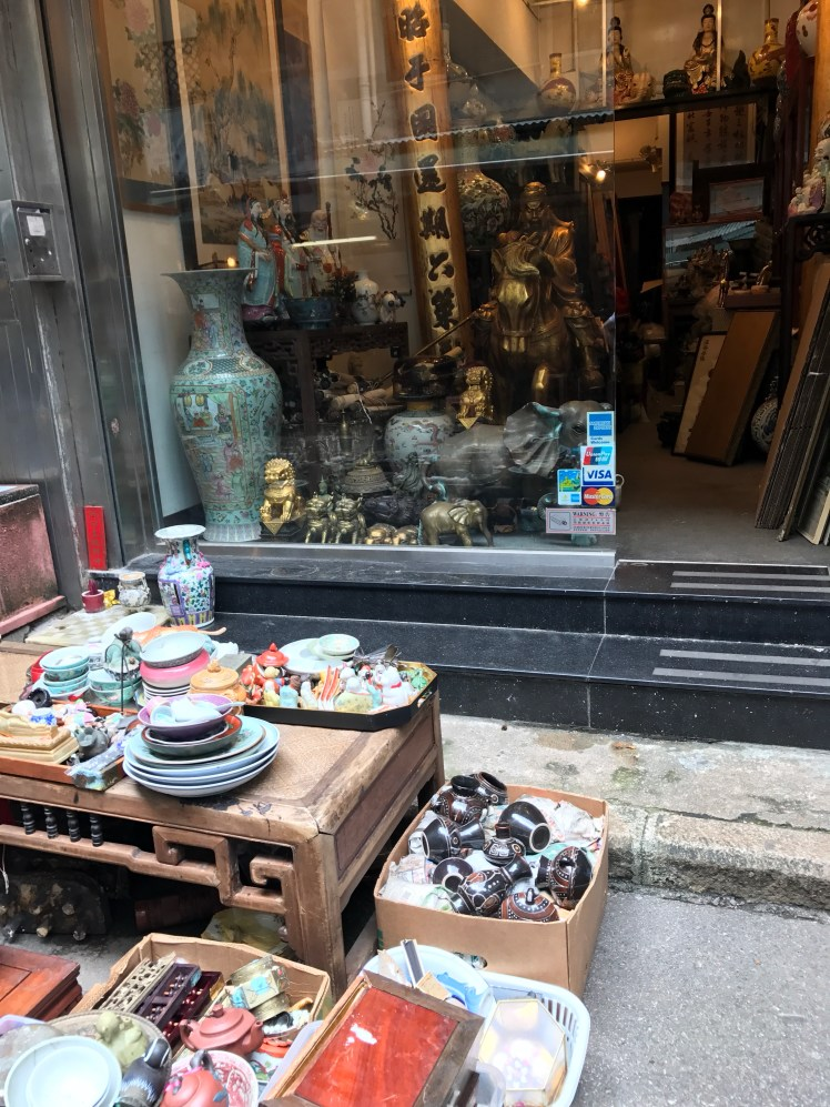 Antiques and every day objects at Cat Street Market