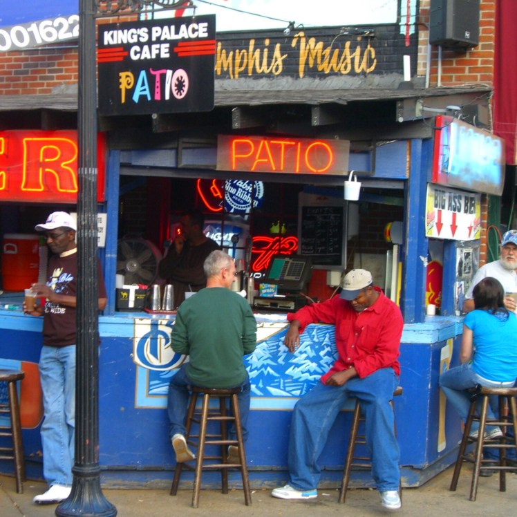 Beale Street Memphis has a laid back vibe