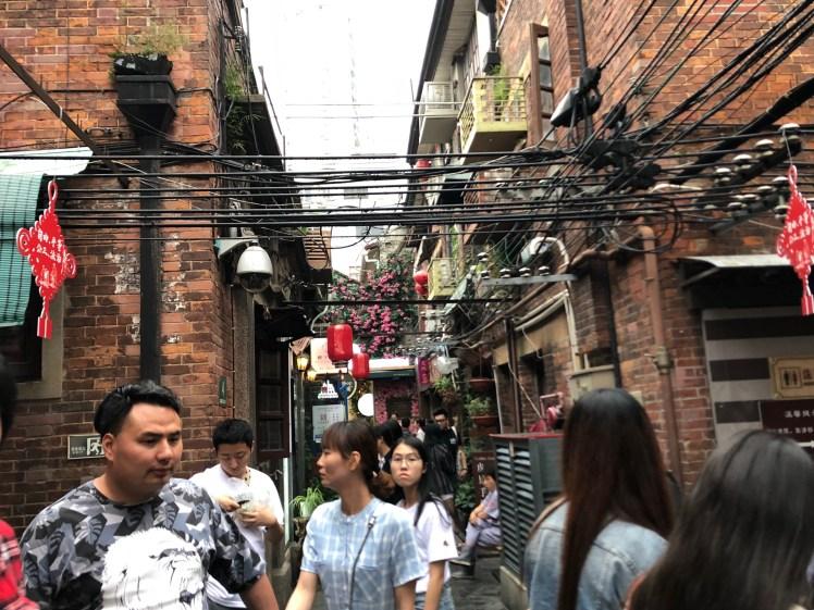 Shanghai Shikumen houses in Tianzifang