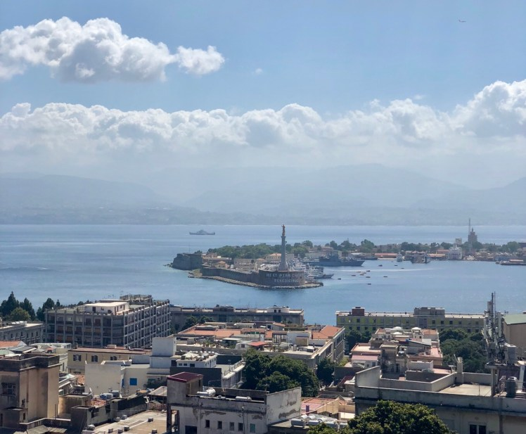 Messina views from Capperina Hill