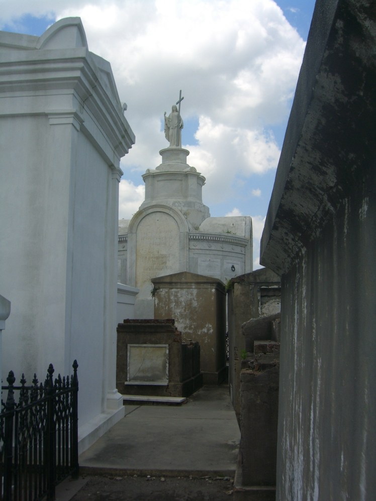 New Orleans cemeteries are called the Cities of the Dead, most famous is the St. Louis Cemetery No. 1