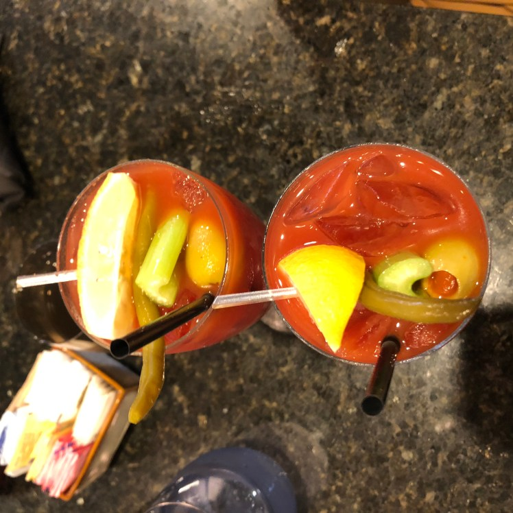 Bloody Mary at Curio, New Orleans is kinda an appetizer