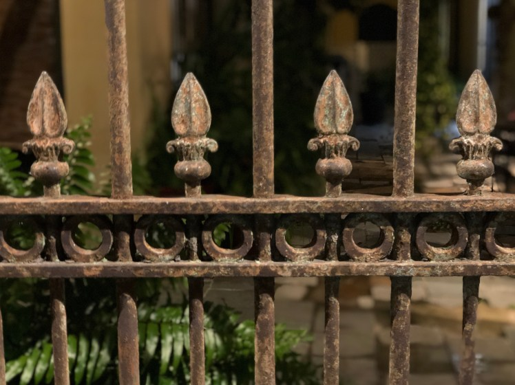 Cast Iron Fence in New Orleans