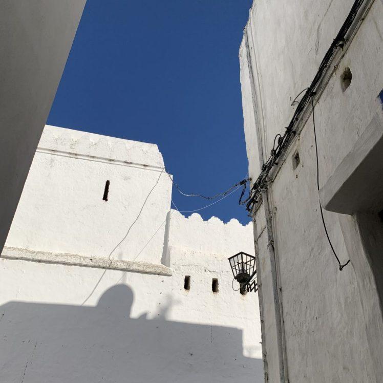 Bright light, Morocco