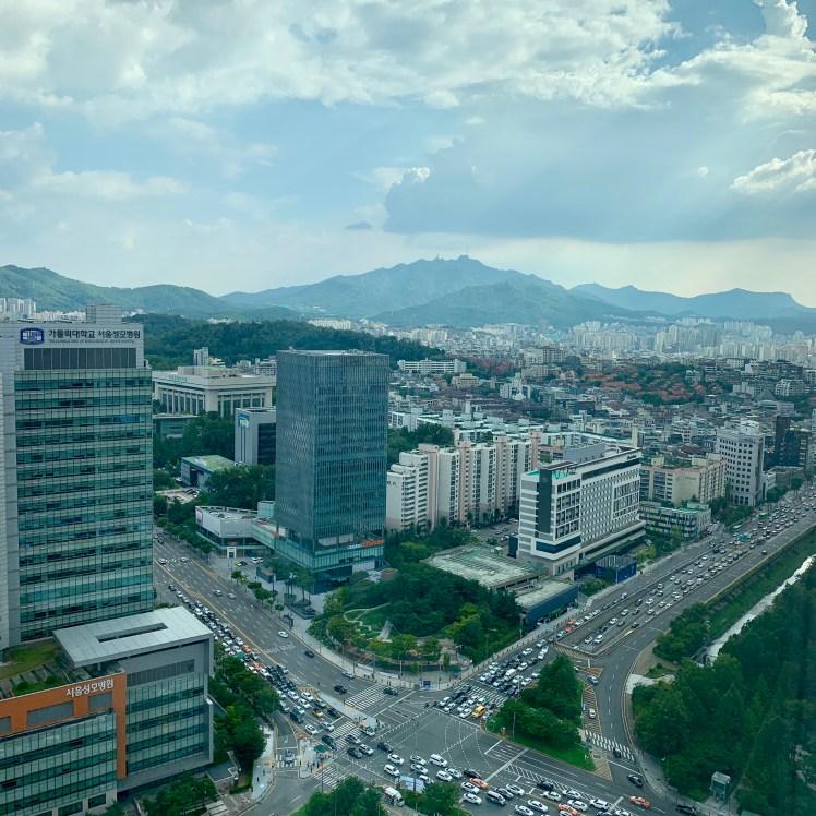 Seoul is near North Korea