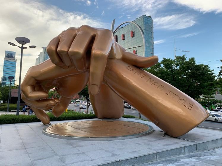 Gangnam Style Statue in Seoul