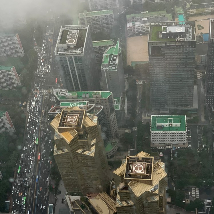 A view from Seoul Sky tower in Seoul