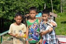 Battambang - some enthusiastic salesmen!