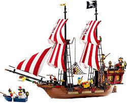 Le bateau de pirate Légo