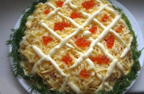 Салат царский пошаговый рецепт с фото