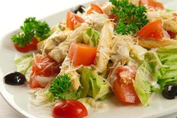 Салат цезарь с курицей классический пошаговый рецепт с фото