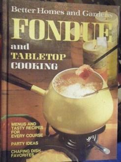 Fondue Cook Book