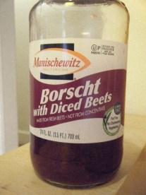 Jarred borscht