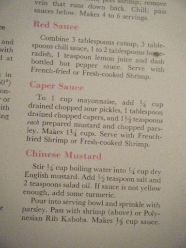shrimp sauces