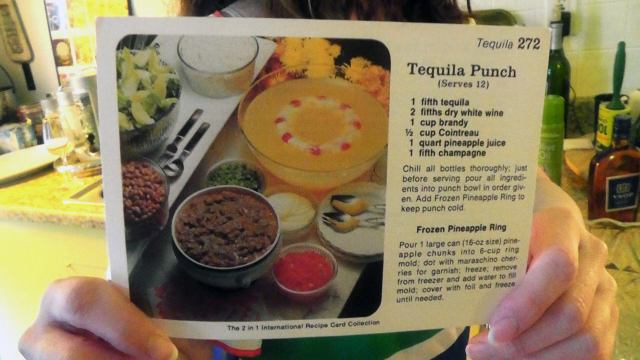 tequila punch recipe