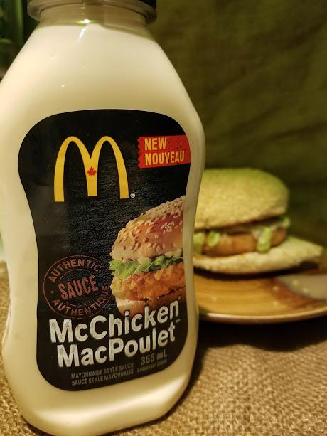 Canada Box: McChicken Sauce