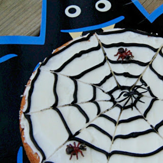 Spooky Spider Web Cookie