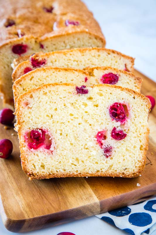 Cranberry Quick Bread is a holiday tradition at our house