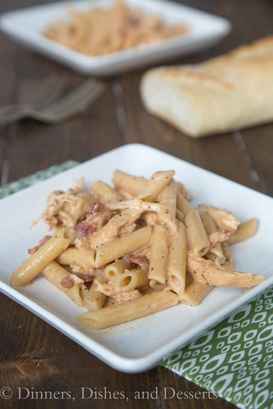 Smokey Garlic Chicken Pasta - so good, and perfect for a weeknight