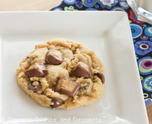 reeses peanut butter cookies on a plate