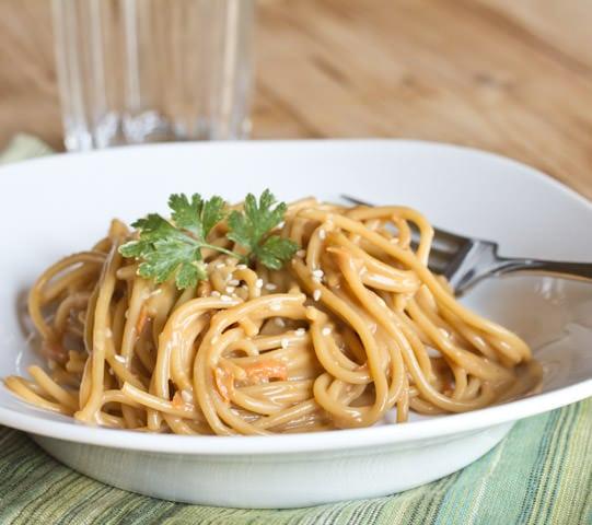 Asian Peanut Noodles