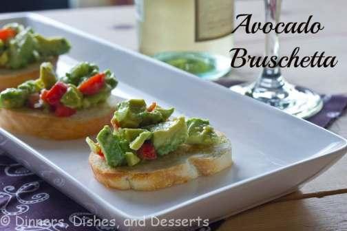 Avocado Bruschetta