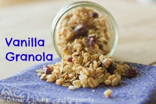 Vanilla Granola