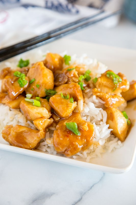Homemade general tso chicken is so easy and delicious!