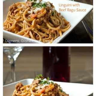 Linguini with Beef Ragu - so comforting!