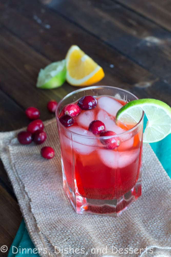 Cranberry Fizz