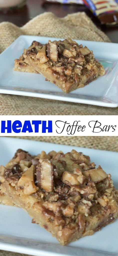English Toffee Bars that are so easy to make and perfect for the holidays.