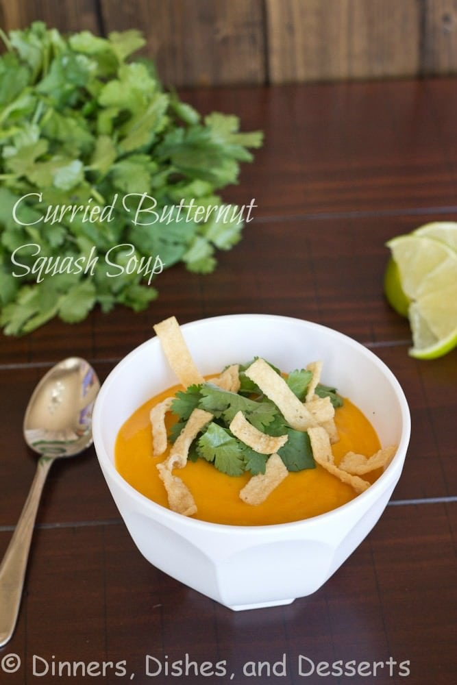 curried butternut squash in a bowl