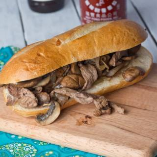 Make Philly Cheesesteak sandwiches at home! Quick. Easy. And oh so tasty!
