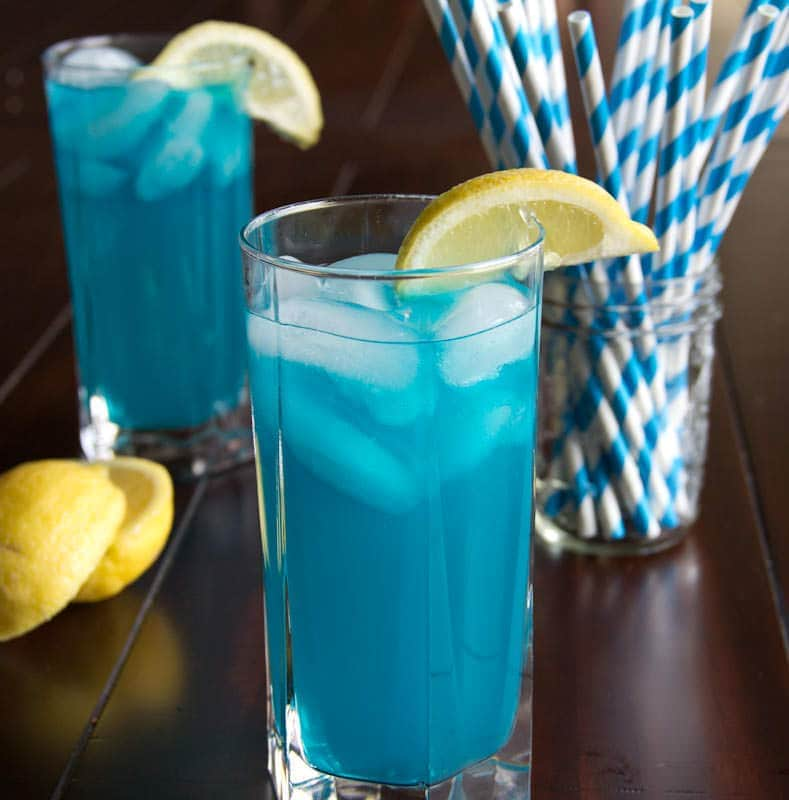 Blue Vodka Lemonade   Dinners, Dishes, and Desserts #recipe