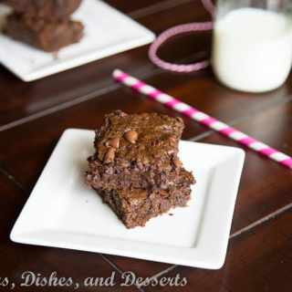 Healthy Zucchini Brownies
