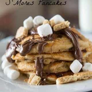 S'mores Pancakes